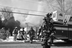 fire in Falls Church Feb. 2015
