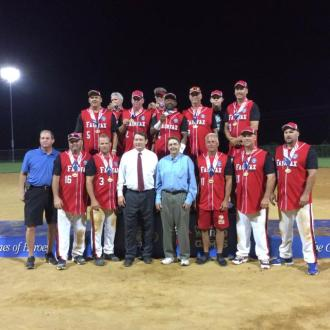 Men's Softball Team won Gold Medal.
