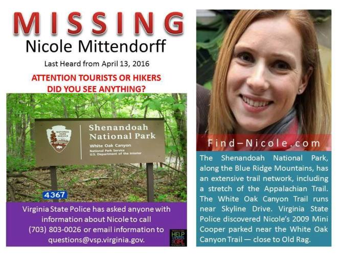 MISSING POSTER MITTENDORFF
