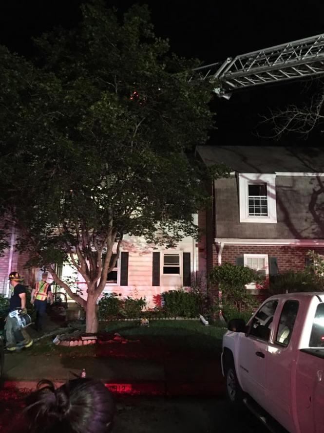 West Springifield Townhouse Fire