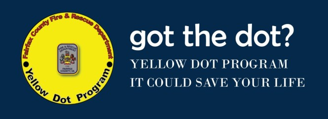 got the dot? Yellow Dot program. It could save your life.