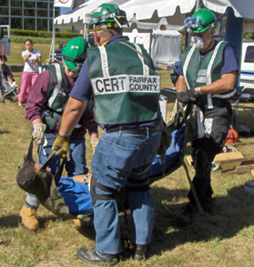Free training in disaster response. CERT Training