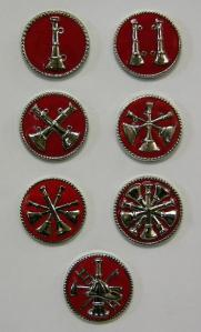 fire department collar pins