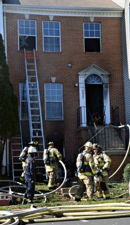 Fair Lakes Townhouse Fire
