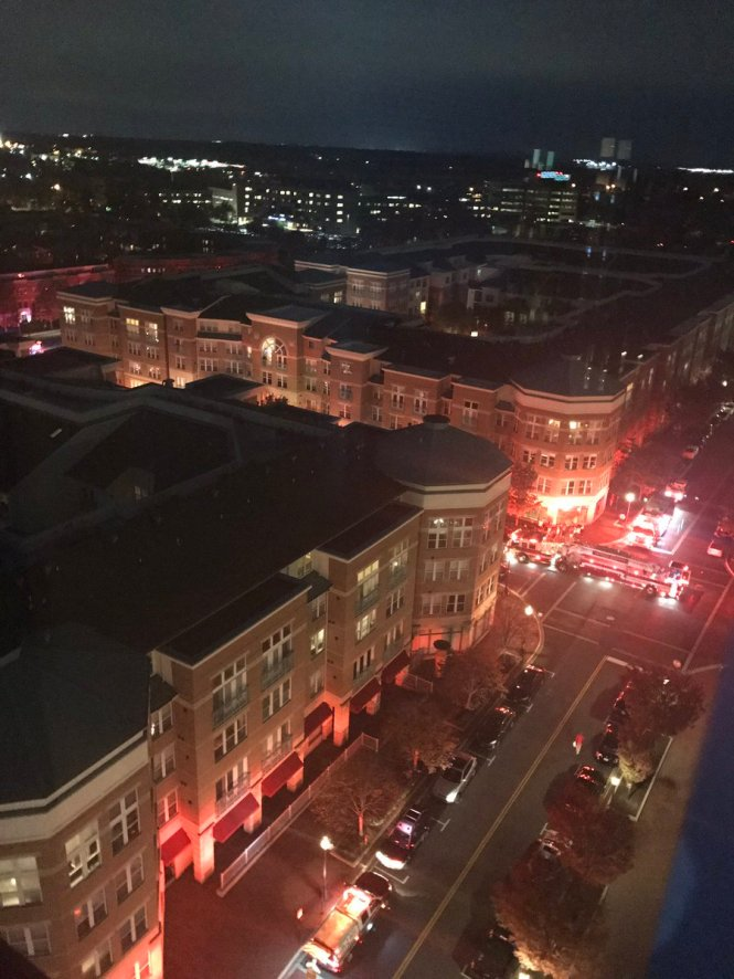 Reston Condominium Fire