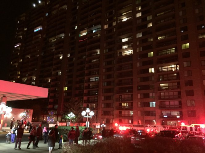 Bailey's Crossroads Apartment Fire Goes to Two Alarms
