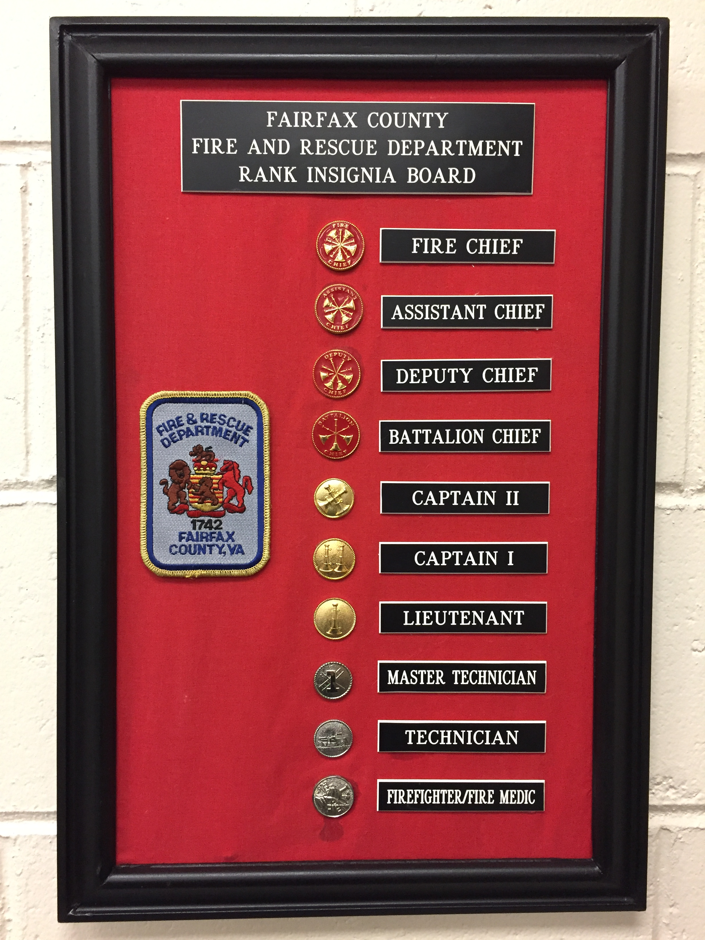 promotions  u2013 fairfax county fire and rescue department