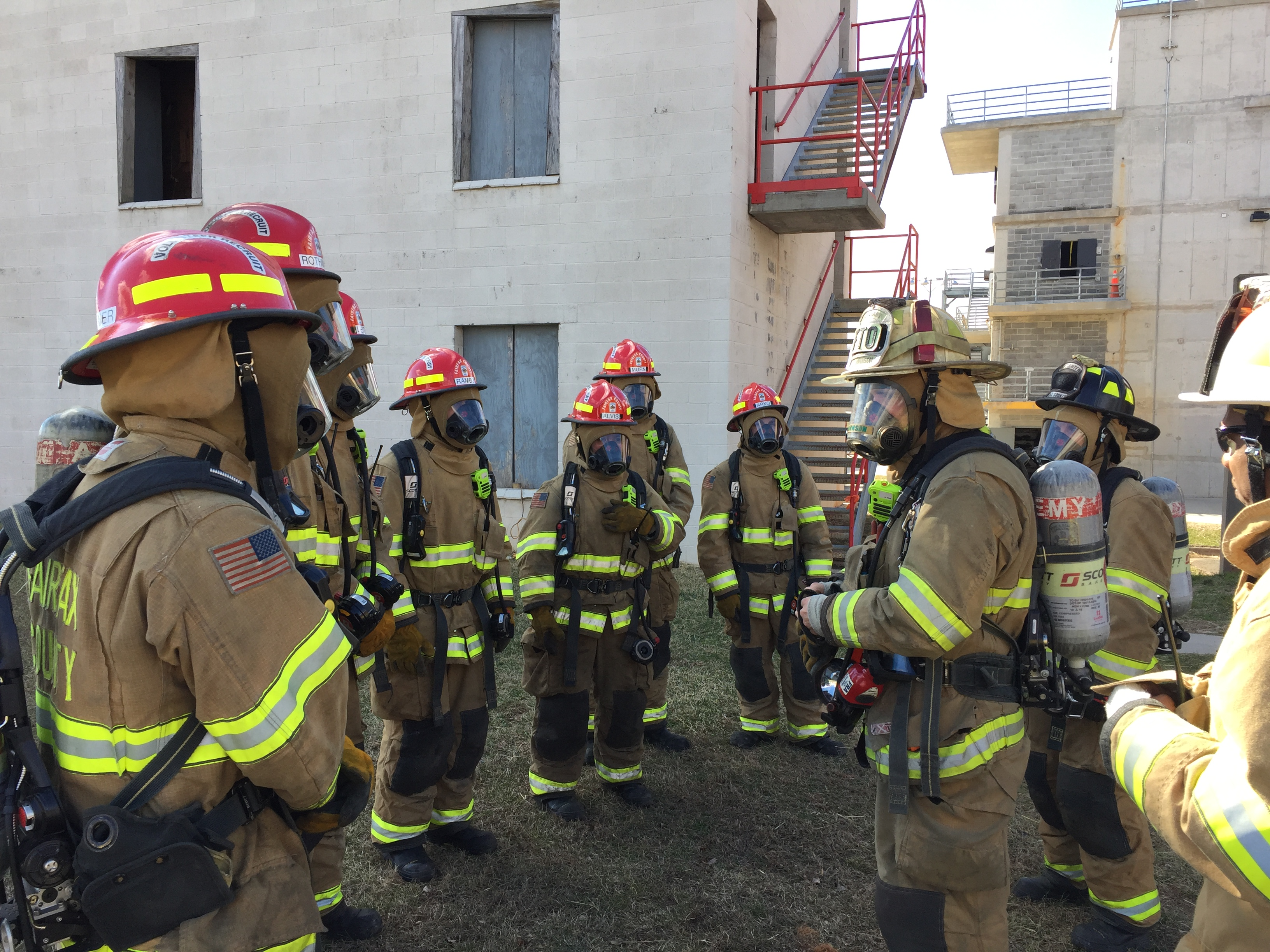 Fire Department Recruit Training Fairfax County Fire And Rescue