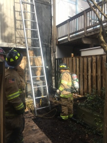 West Springfield Townhouse Fire Displaces Five