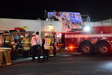 Building Fire Goes To Two Alarms
