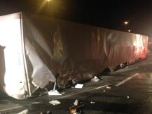 tractor trailer crash on I495 south bound3