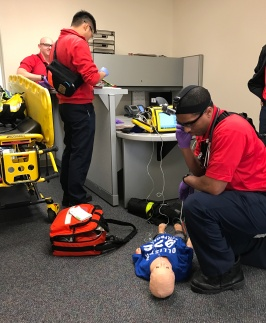Paramedic Students Over Midway Point Of Ten Month Course