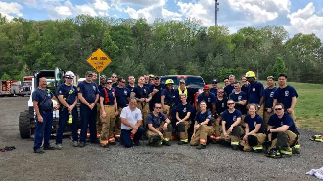 Firefighters Complete Extrication Rescue Training