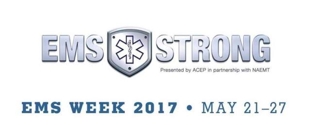 Celebrate National EMS Week!
