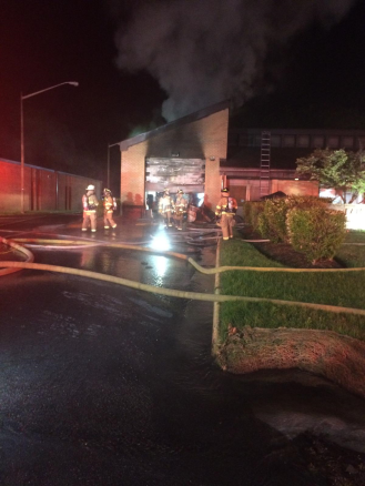 """Electrical Event"" Causes Fire Station 26 Fire"