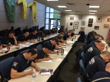 Hazardous Materials Team Conducts Technical Training