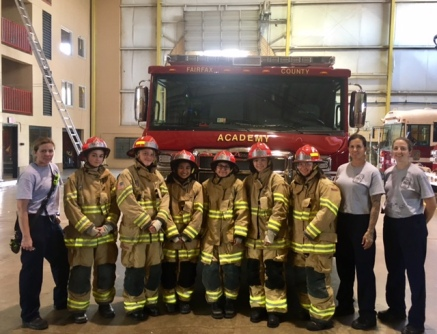Girls Fire and Rescue Academy Students Off To A Great Start!