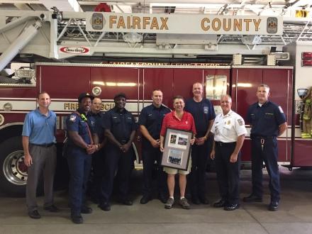 FCFRD Thanks Retired Supervisor Michael Frey
