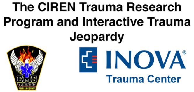Monday Lecture Series: The CIREN Trauma Research Program and Interactive Trauma Jeopardy