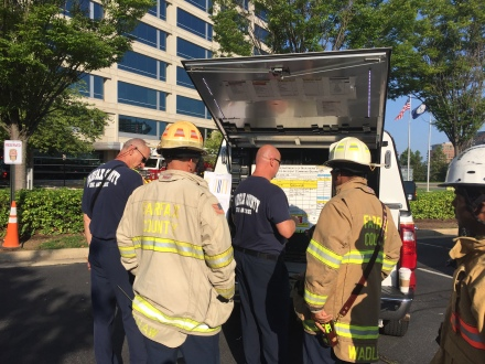 Fire Sprinkler Contains Reston Two Alarm Fire