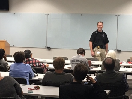 Citizen's Fire And Rescue Academy Visits 9-1-1 Center