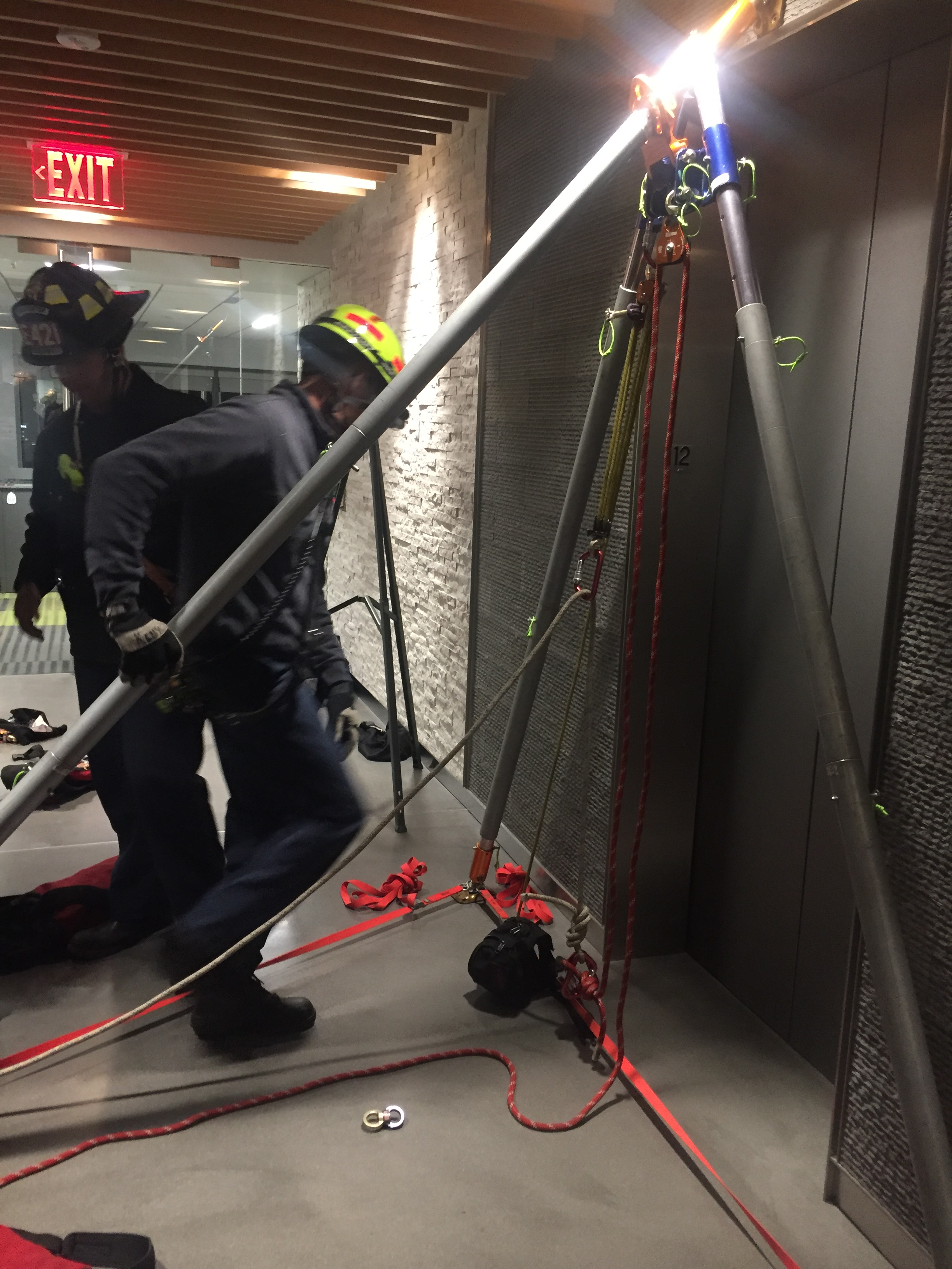 Tysons Elevator Rescue Fairfax County Fire And Rescue