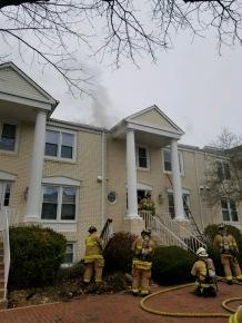 Jeffersonian Ct Townhouse Fire