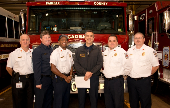 Marc Davidson Firefighter of the Year
