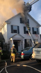 Fort Hunt House Fire Goes To Two Alarms