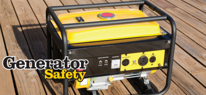 Power Out And Using A Portable Generator Safety Info To