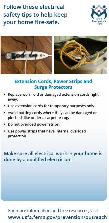 safety - power cords