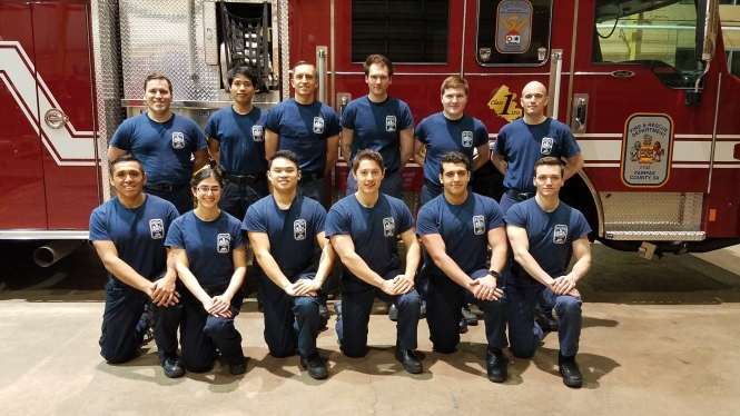 Volunteer Firefighter graduates