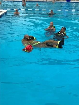 Battalion 401-B water rescue training2