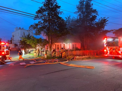 Idylwood House Fire Displaces Four (1)
