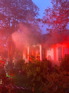 Idylwood House Fire Displaces Four (2)