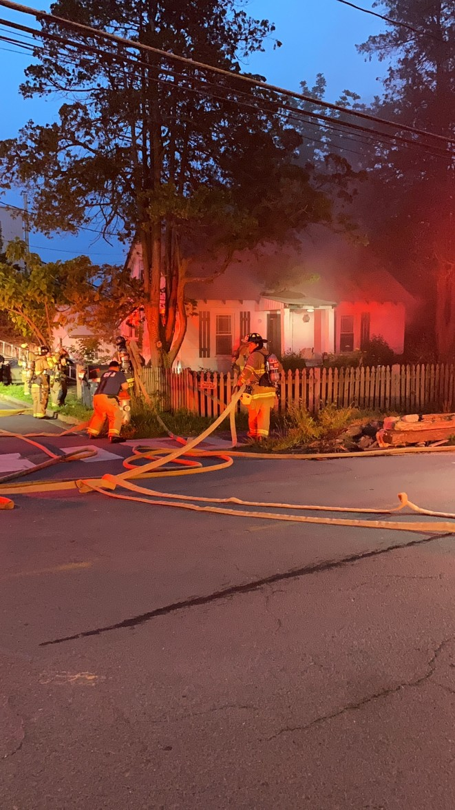Idylwood House Fire Displaces Four3